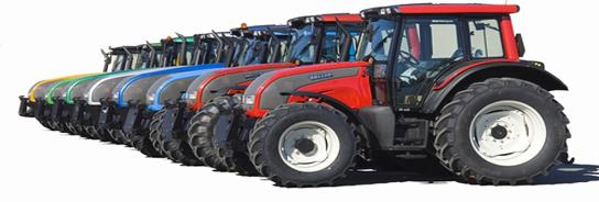 traktorių stiklai
